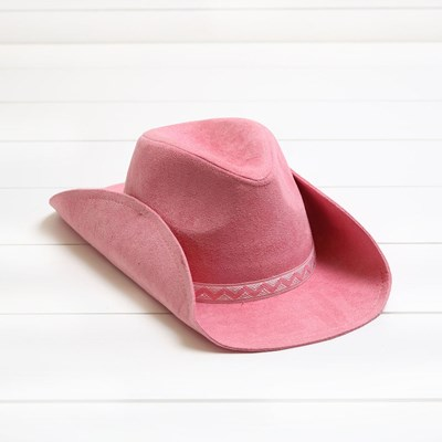 Toddler Pink Cowgirl Hat
