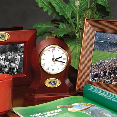 Los Angeles Rams Desk Clock