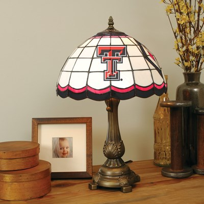 Tiffany Table Lamp - Texas Tech