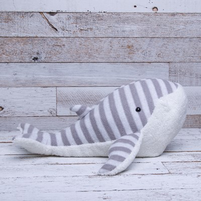 Striped Whale Plush