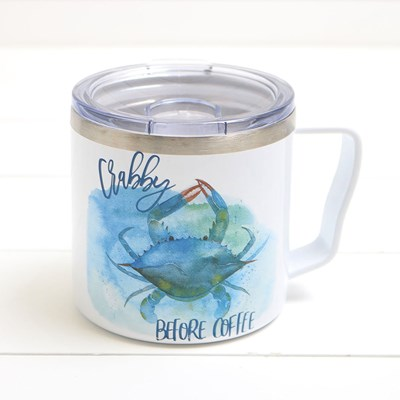 Crabby Before Coffee Mug - 16 oz.