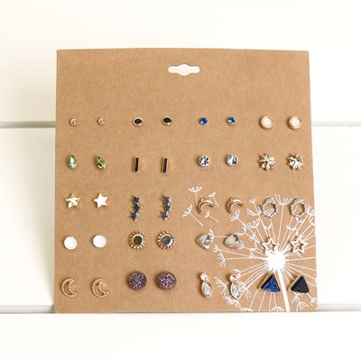 Celestial 20 piece Earring Set