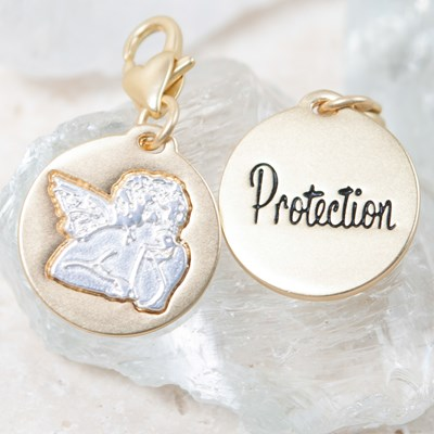 """Protection"" Guardian Angel Charm"