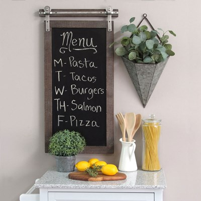 Farmhouse Chalkboard Wall Decor