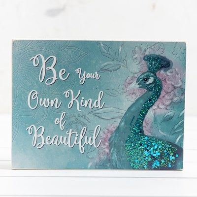 Your Own Kind of Beautiful Box Sign