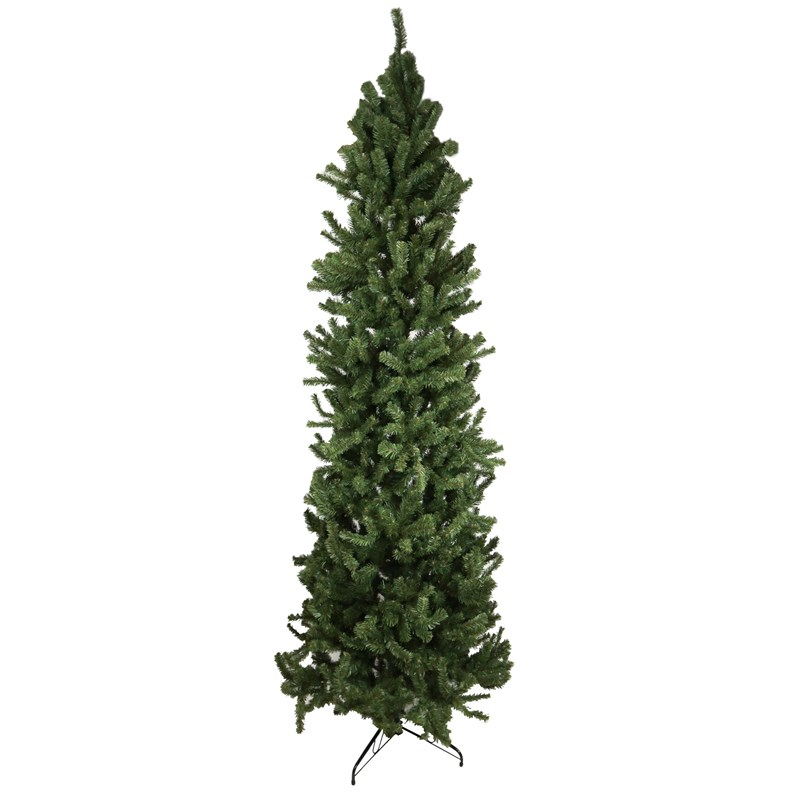 9' Unlit Slim Pine Christmas Tree | Collections | Traditional ...