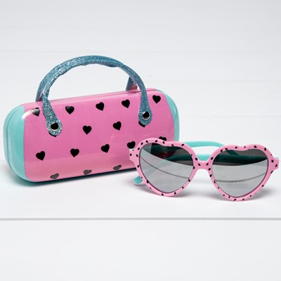 Toddler Watermelon Sunglasses with Case