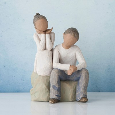 Willow Tree ® Brother and Sister Figurine