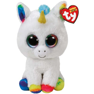 "TY Pixy the White Unicorn 13"" Beanie Boo"