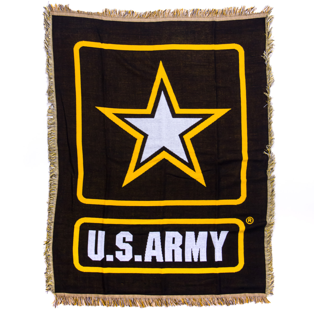 Us Army Rocking Chair Military Chairs Cracker Barrel Polo Valley Black Green Woven Throw Blanket
