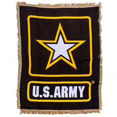 U.S. Army Woven Throw Blanket