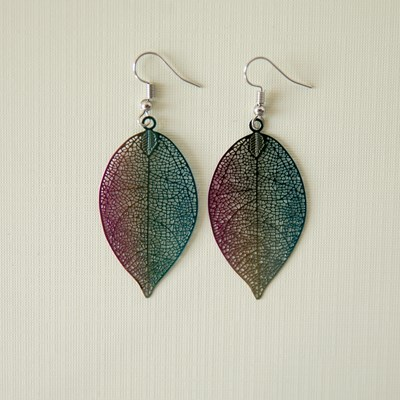 Mystic Leaf Earrings
