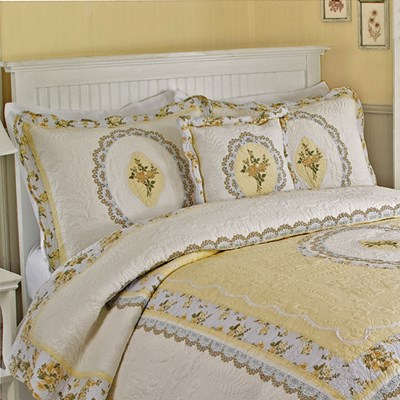 Classic Cameo Quilted Standard Sham