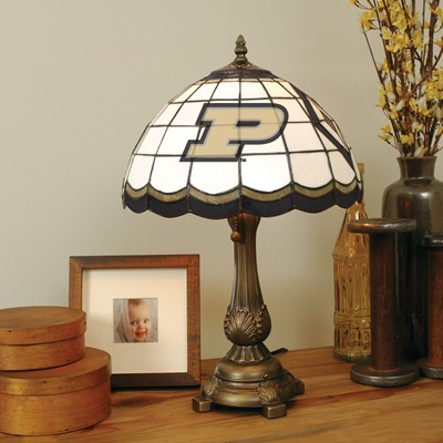 Tiffany Table Lamp - Purdue