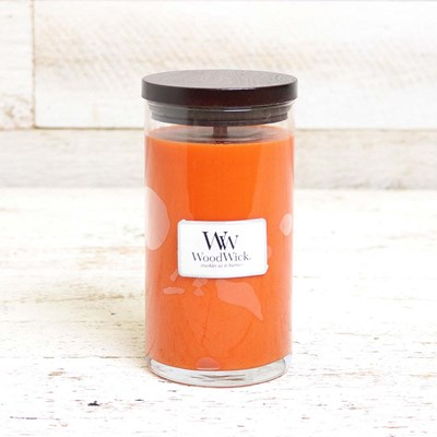 WoodWick Pumpkin Pie Madison Jar Candle