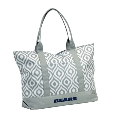 Ikat Tote Bag - Chicago Bears