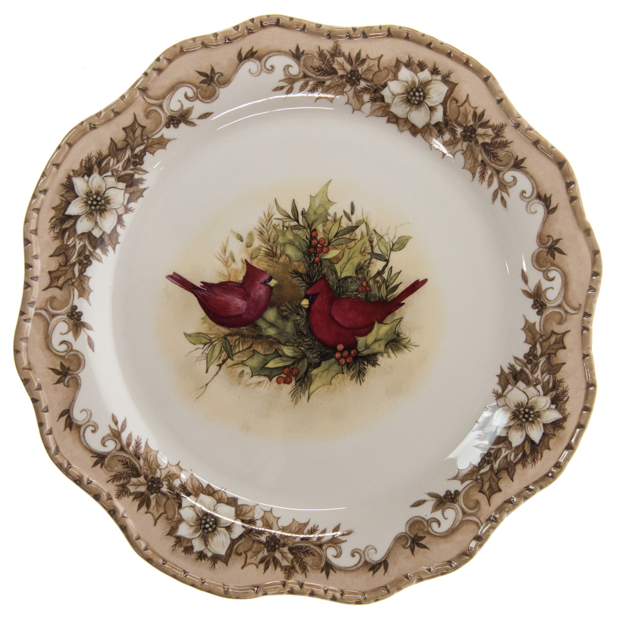 Woodland Cardinal Stoneware Dinner Plate  sc 1 st  Cracker Barrel & Dinnerware Serveware | Kitchen Dining | Home Furniture - Cracker ...