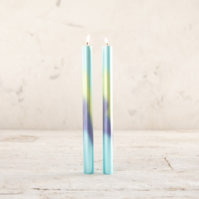 Ombre Taper Candles