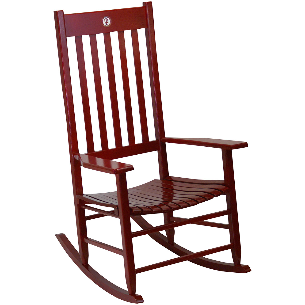 Remarkable Team Color Rocking Chair Indiana Andrewgaddart Wooden Chair Designs For Living Room Andrewgaddartcom