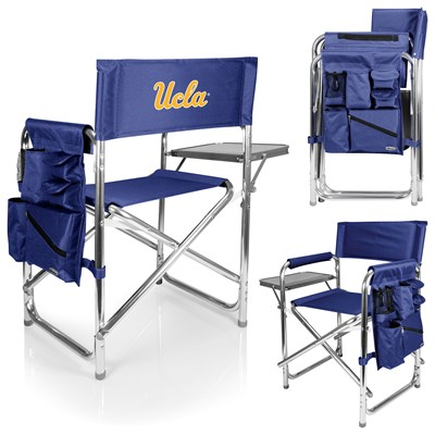 Portable Chair with Tray and Caddy - UCLA