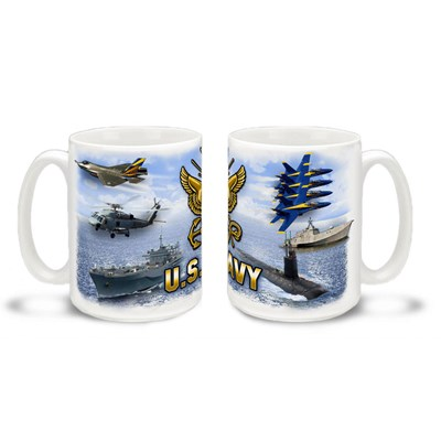U.S. Navy Coffee Mug