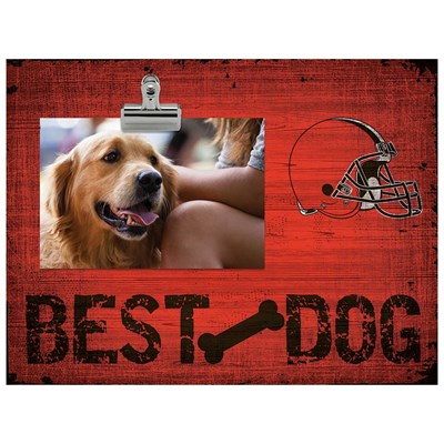 Cleveland Browns - Best Dog Clip Frame