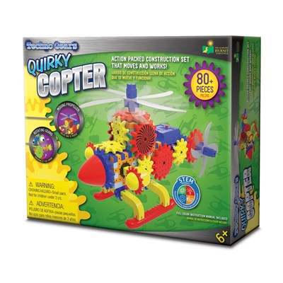 Techno Gears Quirky Copter Construction Set