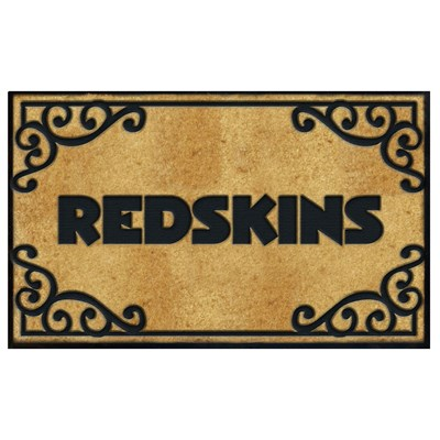 Washington Redskins Full Size Doormat