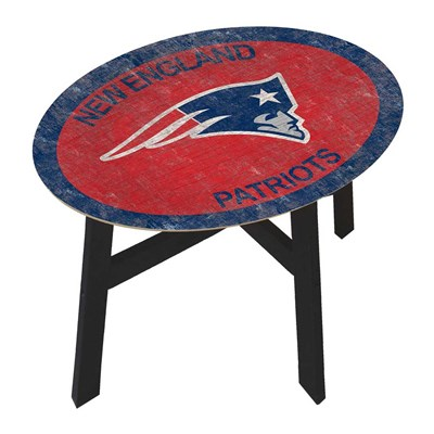 New England Patriots - Team Color Side Table