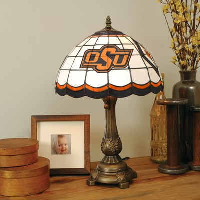Tiffany Table Lamp - Oklahoma State
