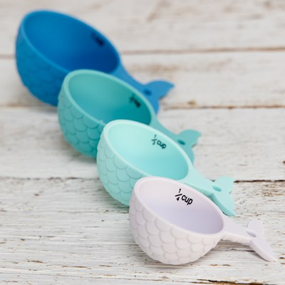 Mermaid Tail Measuring Cups
