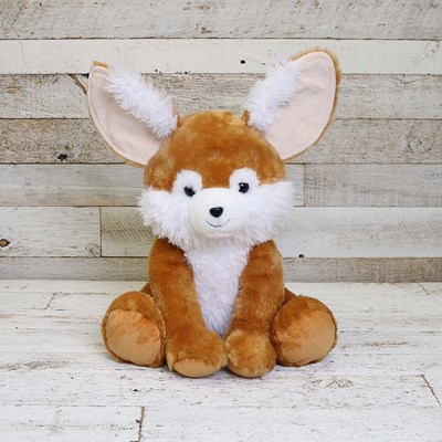 Jumbo Sitting Fennec Fox Plush