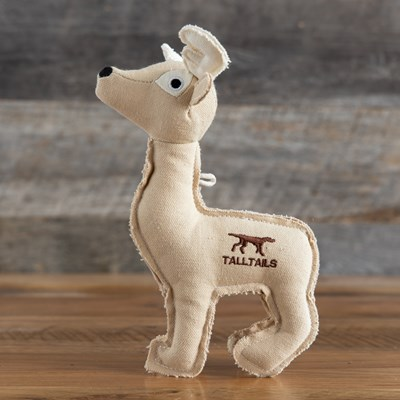 Canvas Deer Dog Toy