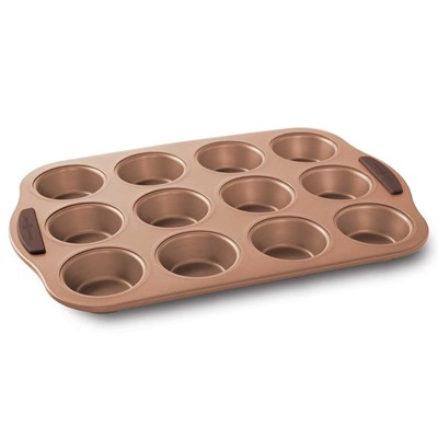 Freshly Baked Non-Stick Muffin Pan - 12 Cup