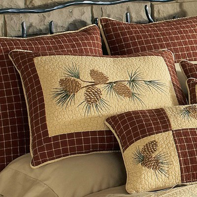Pine Lodge Quilted Standard Sham by Donna Sharp
