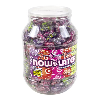Now and Later Assorted Jar - 365 Count