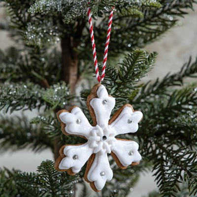 Oh Gussie! Claydough Open Snowflake Ornament