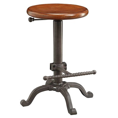 Vintage Style Adjustable Height Stool