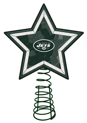 New York Jets Mosaic Tree Topper