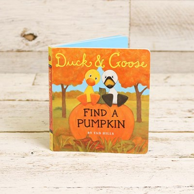 Duck and Goose Find a Pumpkin Book