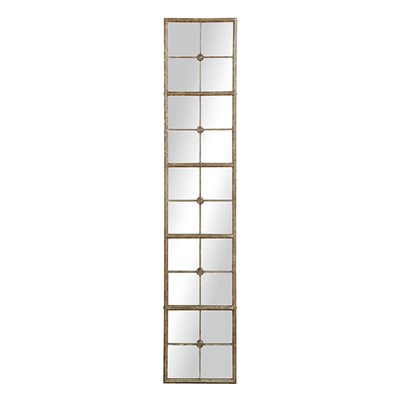 Metal Framed Mirror in Gold