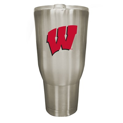 Wisconsin 32oz Stainless Steel Tumbler