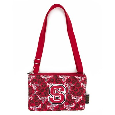 NC State - Cross Body Bloom Purse