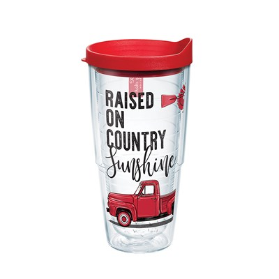 """Raised on Country Sunshine"" 24 Oz. Tumbler"