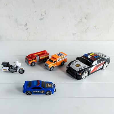 Emergency Vehicle 5 Pack