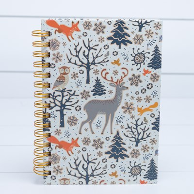 Woodland Animals Spiral Journal