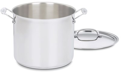 Cuisinart Stainless Steel 12-Quart Stockpot with Cover