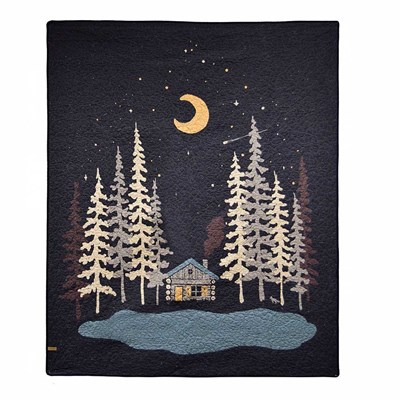 Moonlit Cabin Throw by Donna Sharp