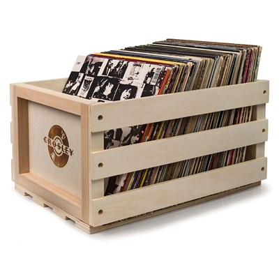 Crosley ® Wooden Record Storage Crate