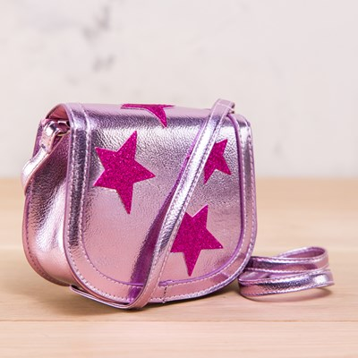 Glitter Star Crossbody Bag